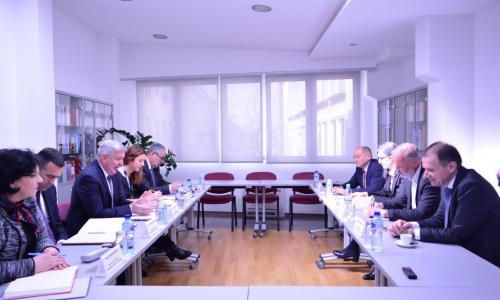 Meeting with the Chamber of Commerce of Montenegro